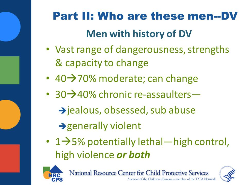 Part II: Who are these men--DV