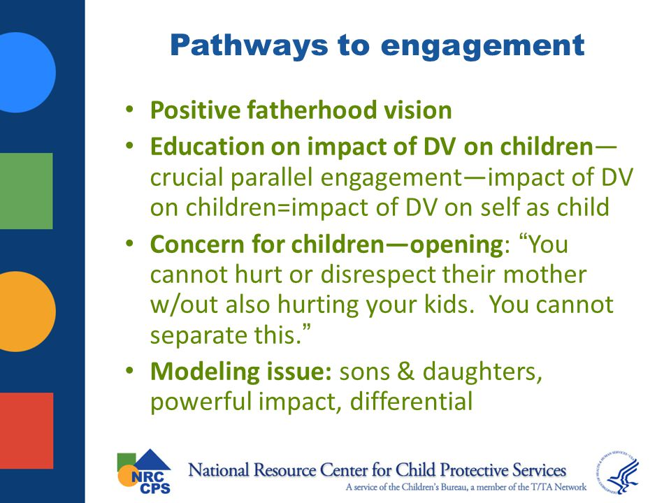 Pathways to engagement