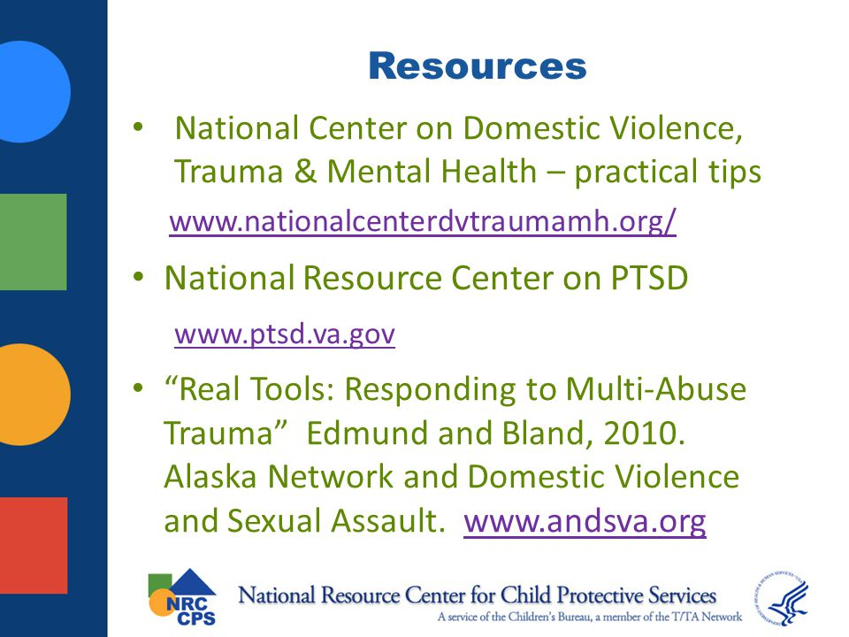 National Resource Center on PTSD
