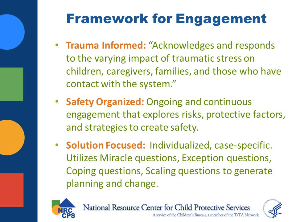 Framework for Engagement