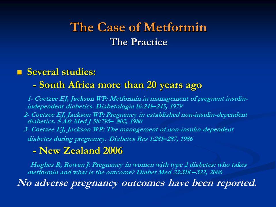 The Case of Metformin The Practice
