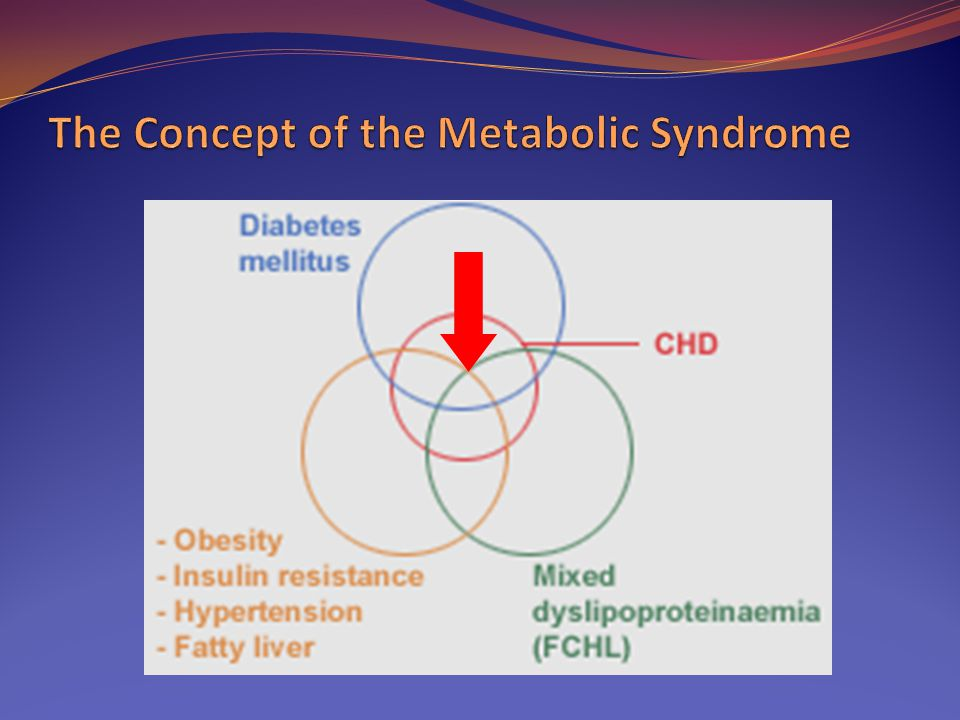The Concept of the Metabolic Syndrome