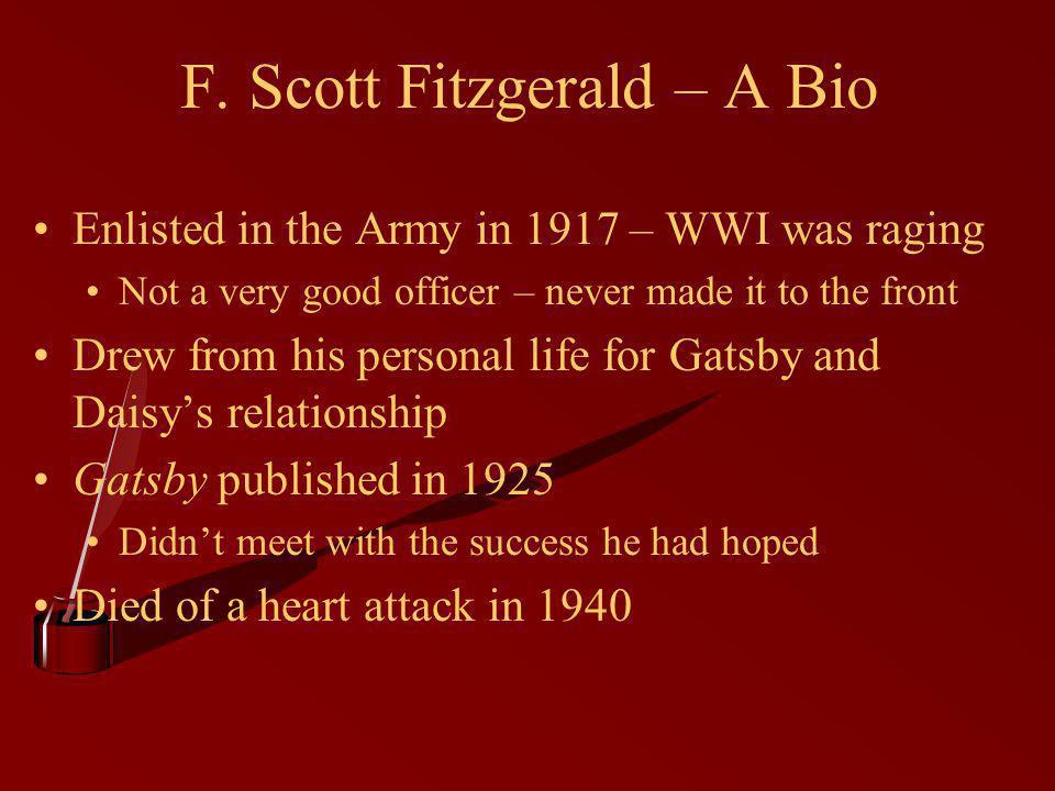 F. Scott Fitzgerald – A Bio