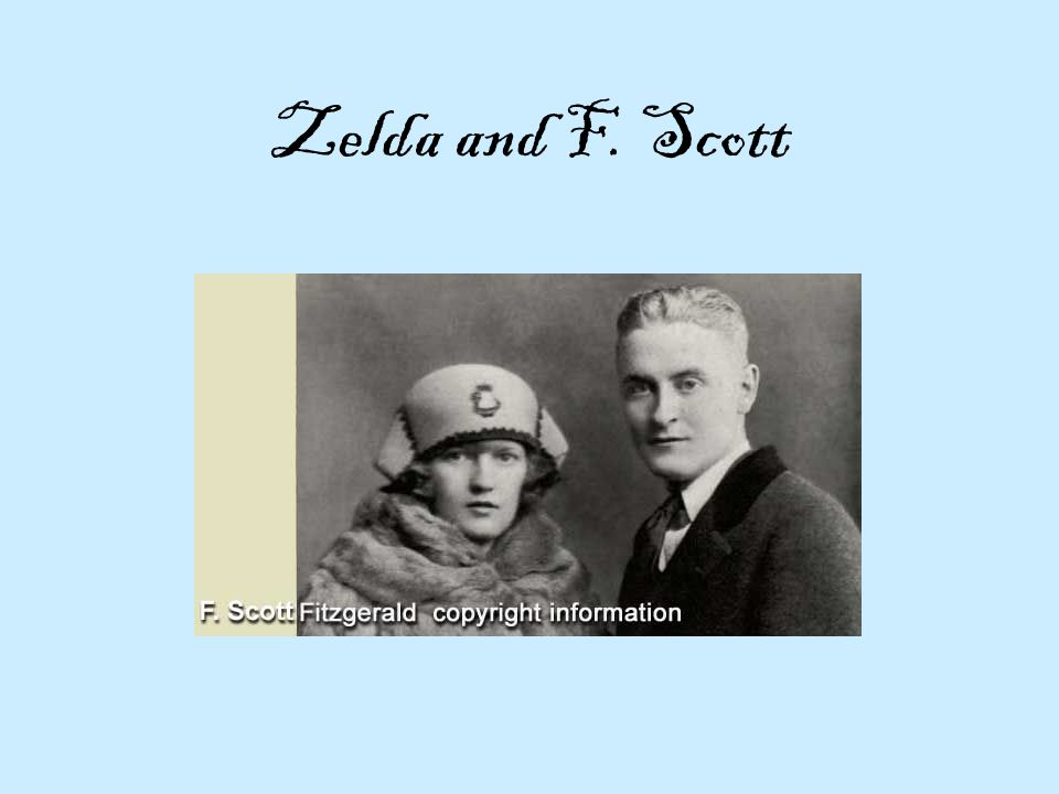 Zelda and F. Scott