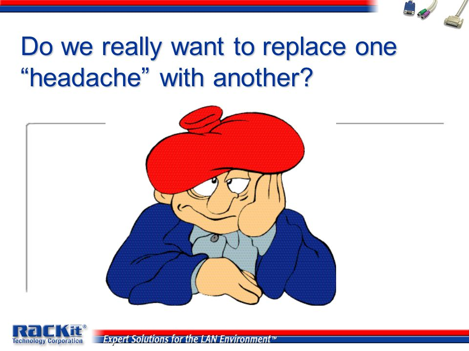 Do we really want to replace one headache with another
