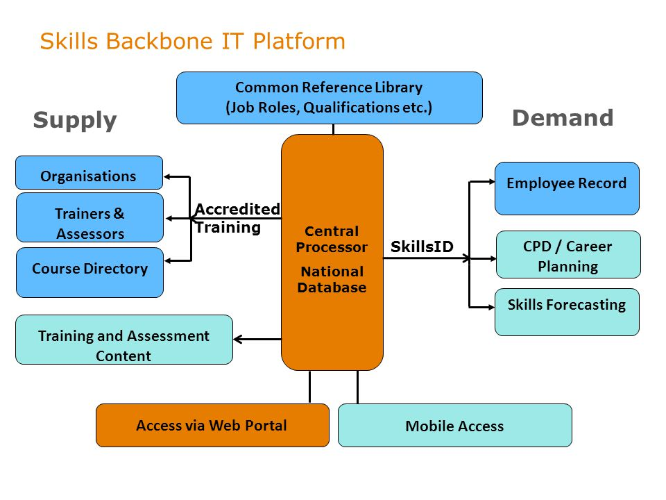 Skills Backbone IT Platform