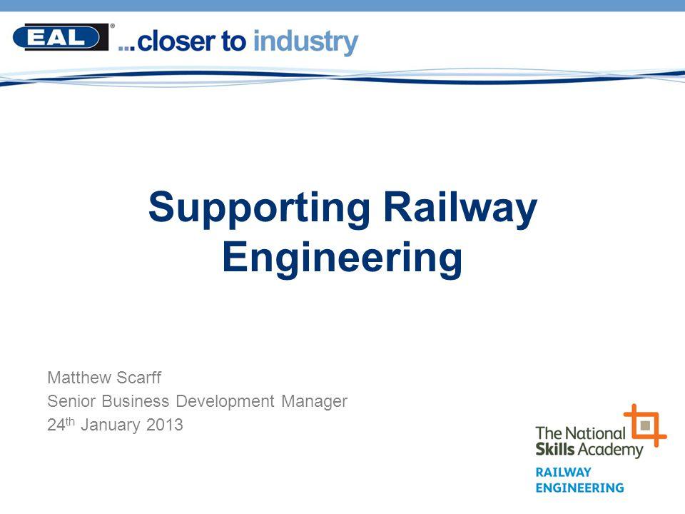 Supporting Railway Engineering