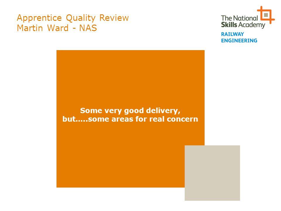 Apprentice Quality Review Martin Ward - NAS
