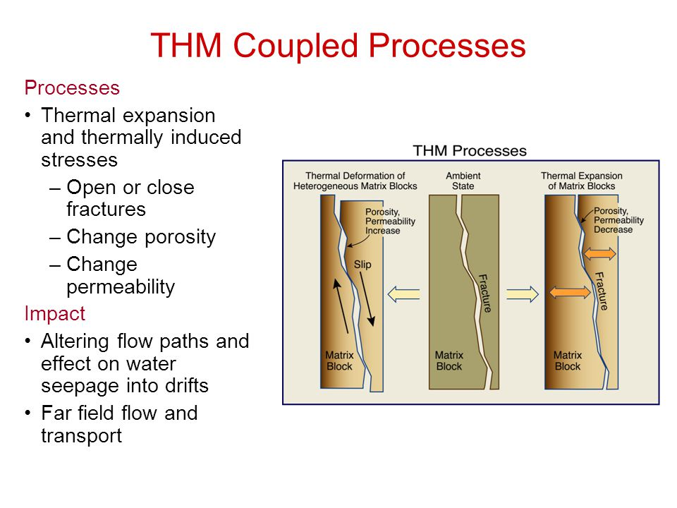 THM Coupled Processes Processes