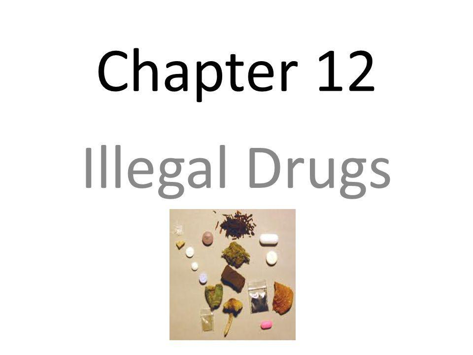 Chapter 12 Illegal Drugs