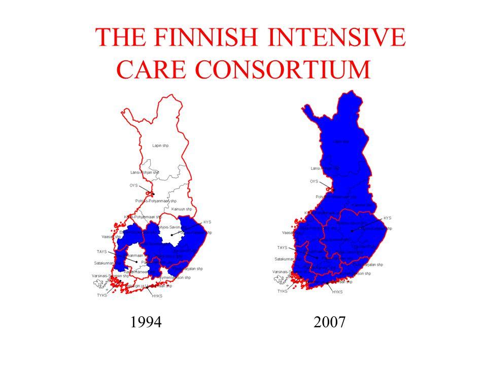 THE FINNISH INTENSIVE CARE CONSORTIUM