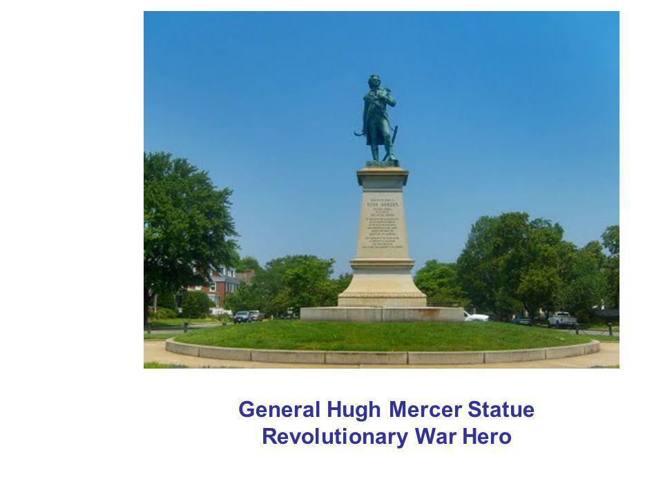 General Hugh Mercer Statue Revolutionary War Hero