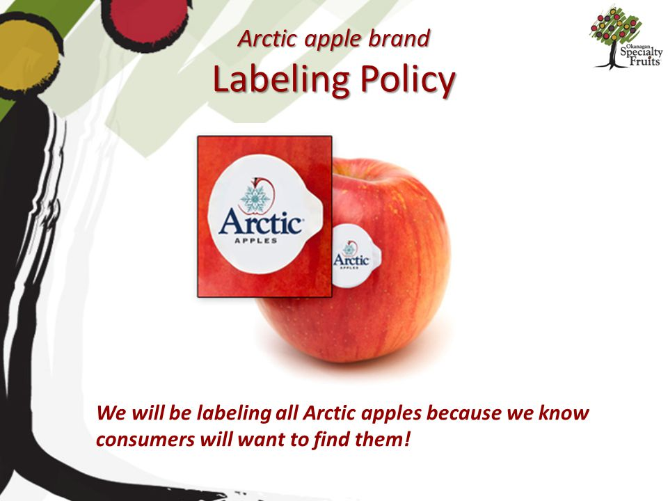 Arctic apple brand Labeling Policy
