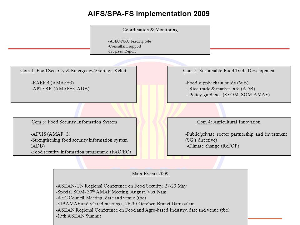AIFS/SPA-FS Implementation 2009
