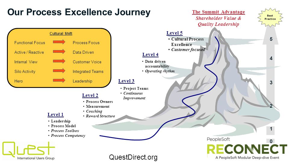 Our Process Excellence Journey