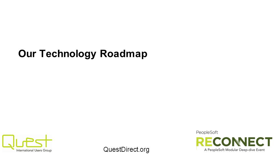 Our Technology Roadmap