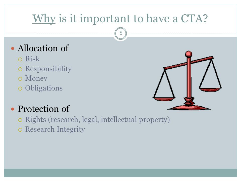 Why is it important to have a CTA