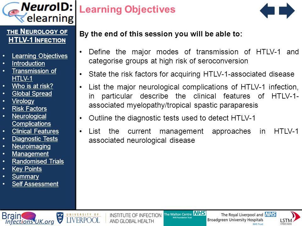 the Neurology of HTLV-1 Infection