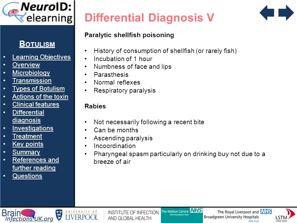 Differential Diagnosis V