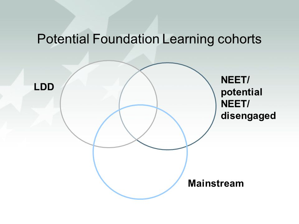 Potential Foundation Learning cohorts