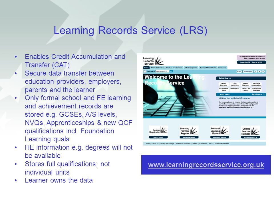 Learning Records Service (LRS)