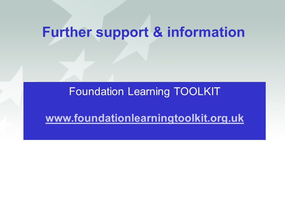 Further support & information