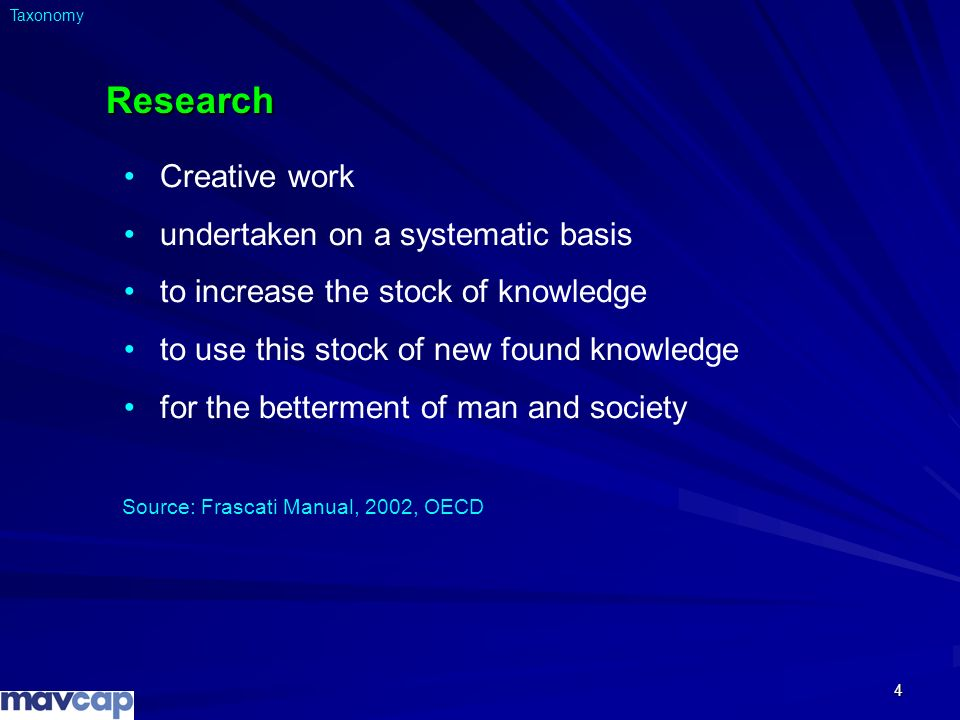 Research Creative work undertaken on a systematic basis