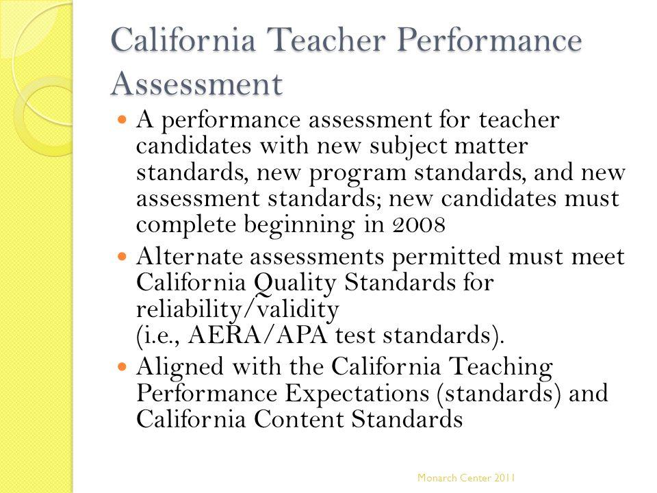 California Teacher Performance Assessment