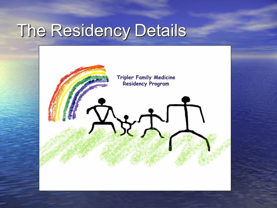 The Residency Details