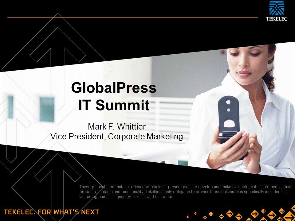 Vice President, Corporate Marketing