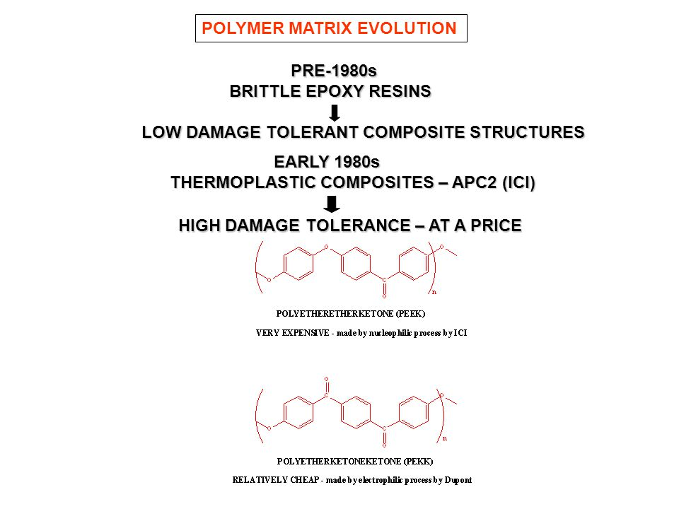 POLYMER MATRIX EVOLUTION
