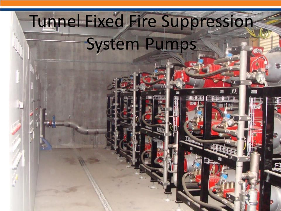 Tunnel Fixed Fire Suppression System Pumps