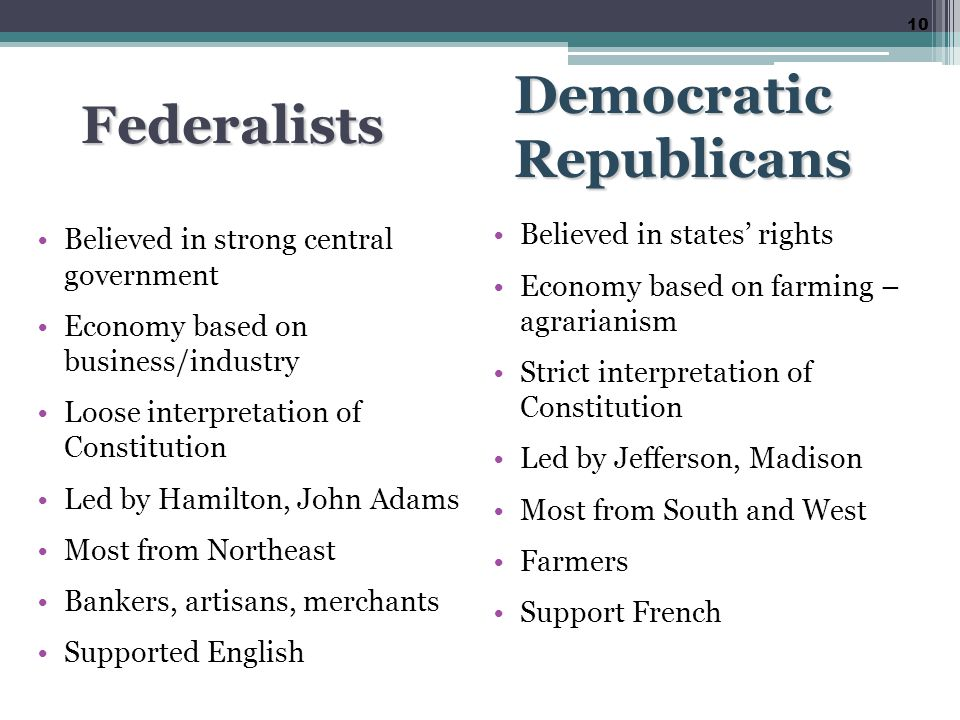 hamiltonian federalists Find out more about the history of federalist party, including videos, interesting articles, pictures,  with the federalists under hamilton's leadership.