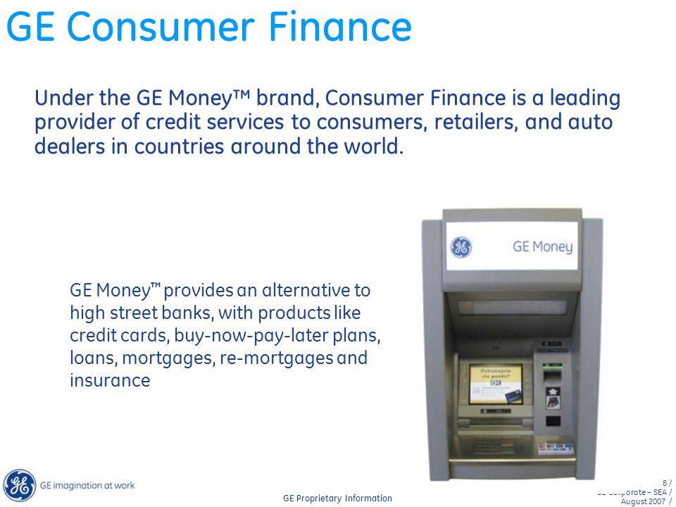 GE Consumer Finance