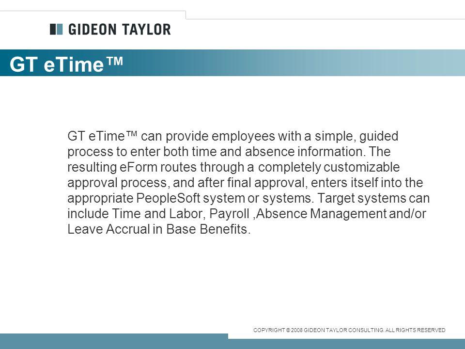 GT eTime™
