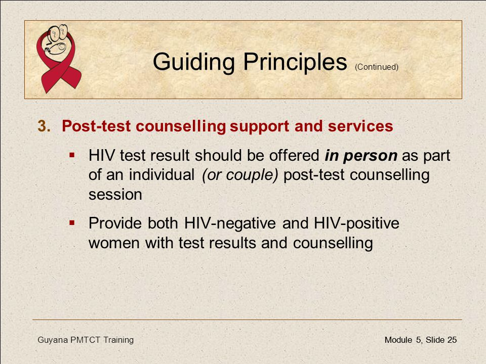 Guiding Principles (Continued)