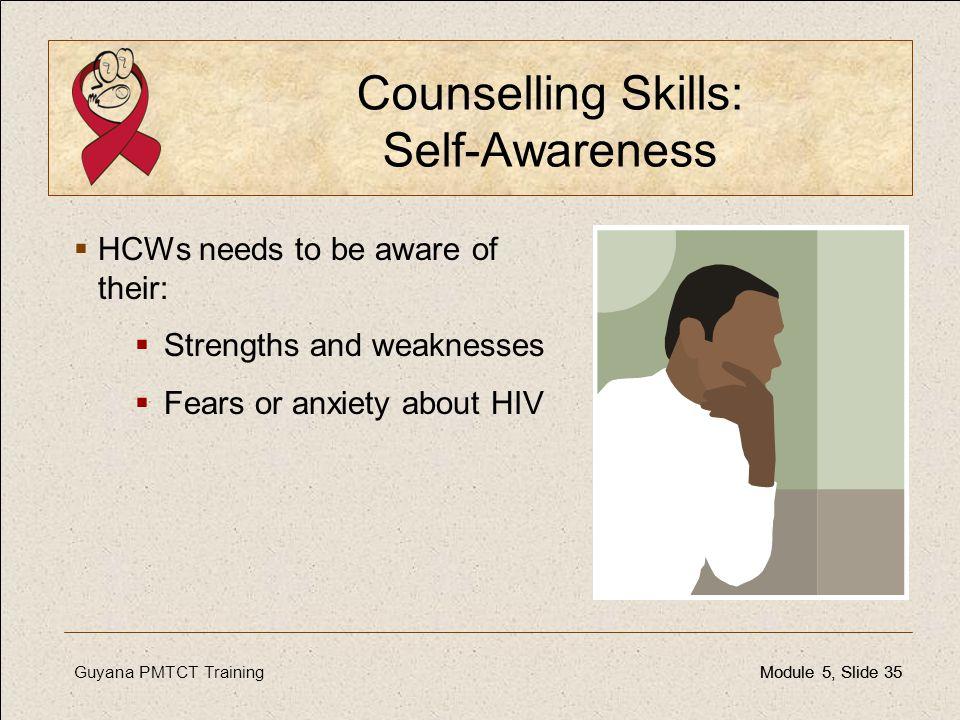 Counselling Skills: Self-Awareness