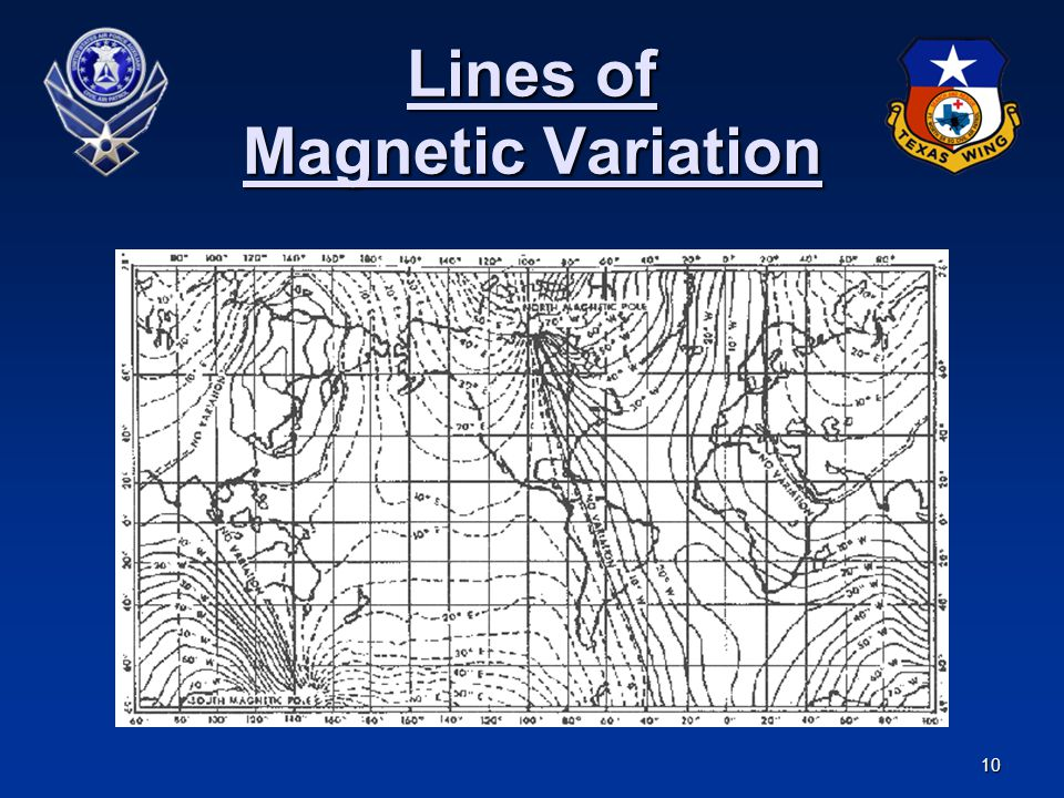 Lines of Magnetic Variation