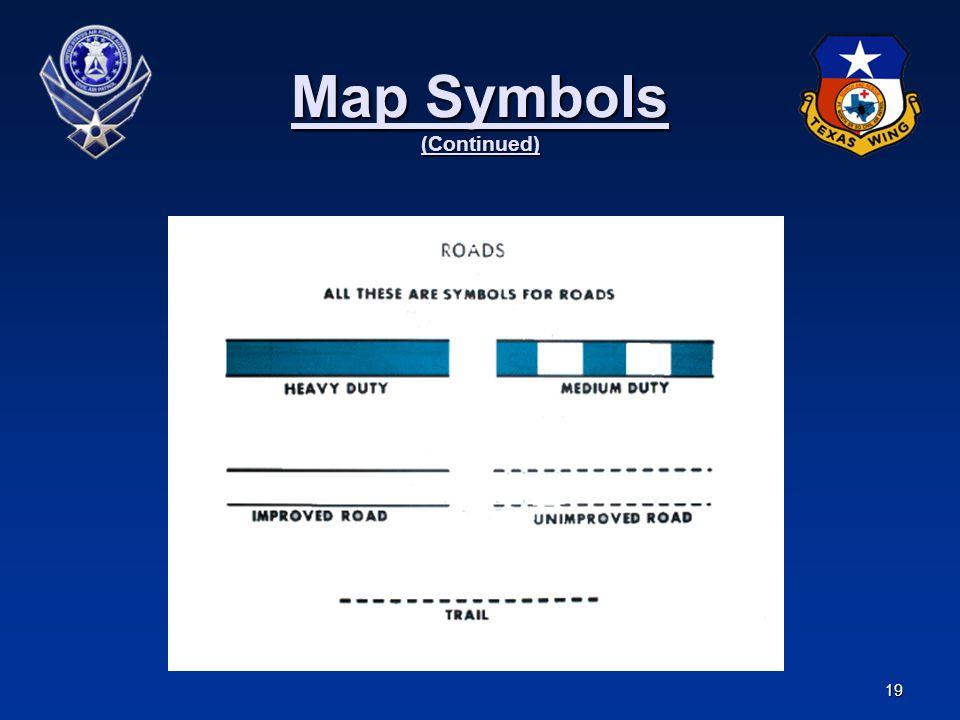 Map Symbols (Continued)