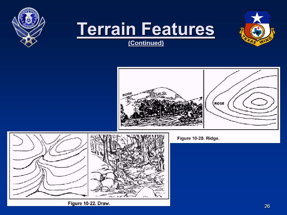 Terrain Features (Continued)