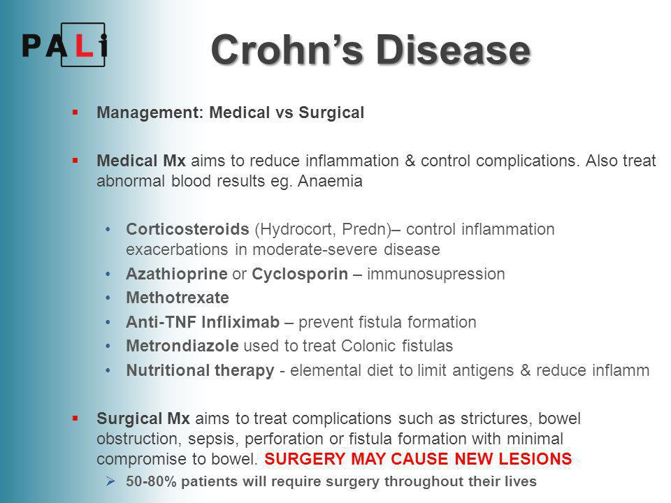 Crohn's Disease Management: Medical vs Surgical