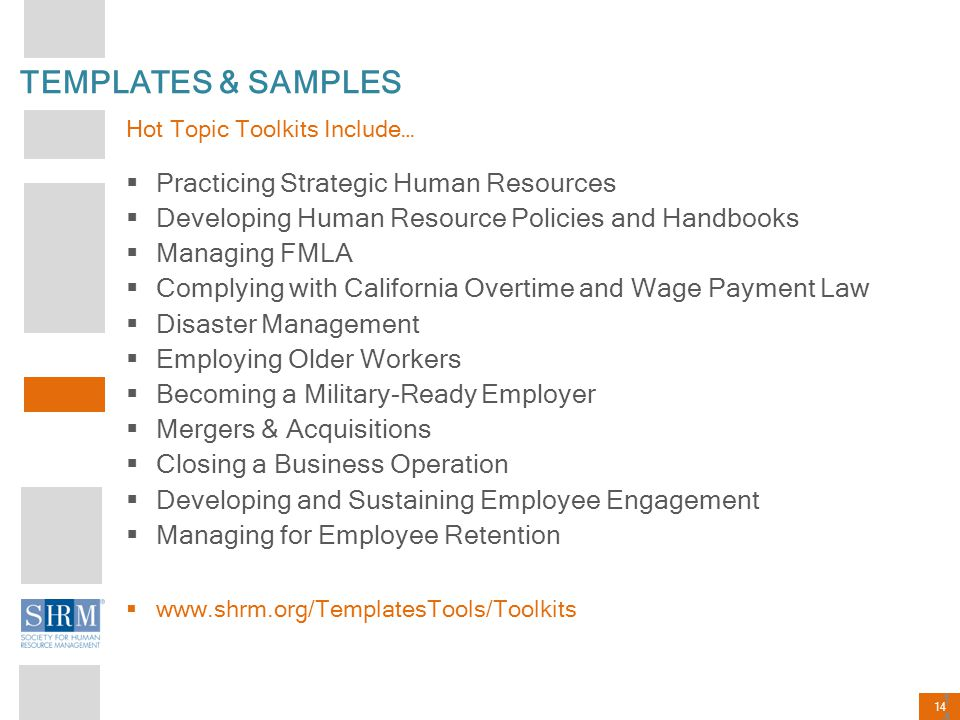TEMPLATES & SAMPLES Practicing Strategic Human Resources