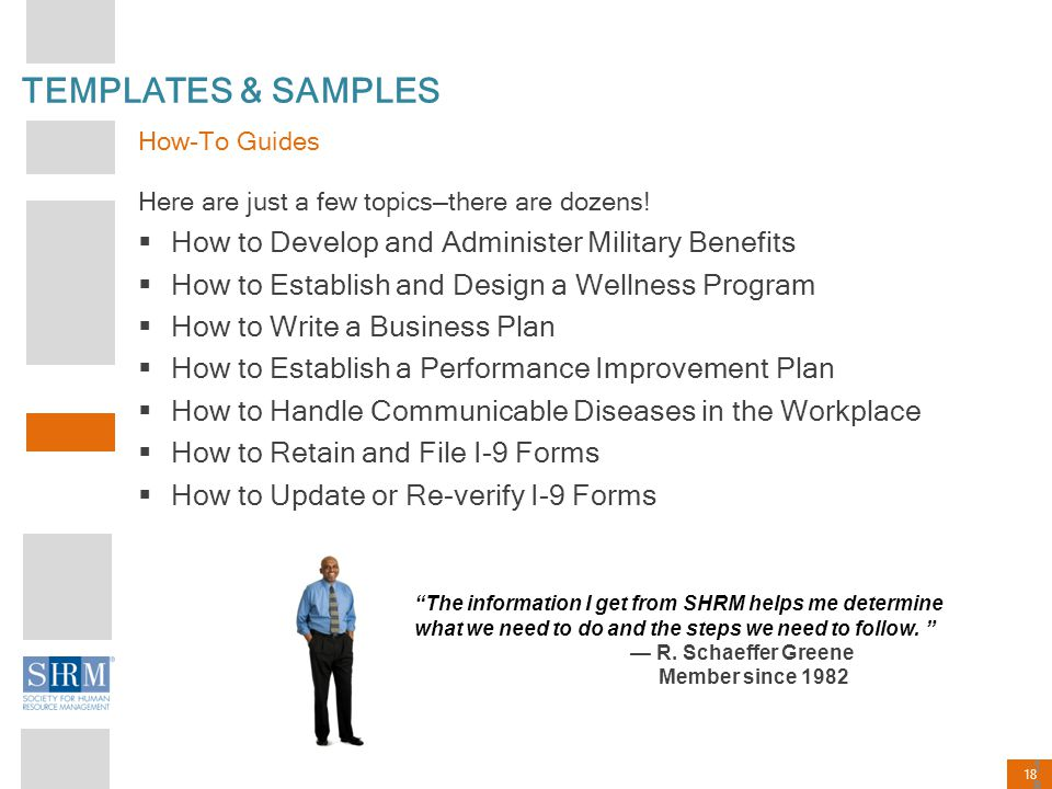 TEMPLATES & SAMPLES How to Develop and Administer Military Benefits