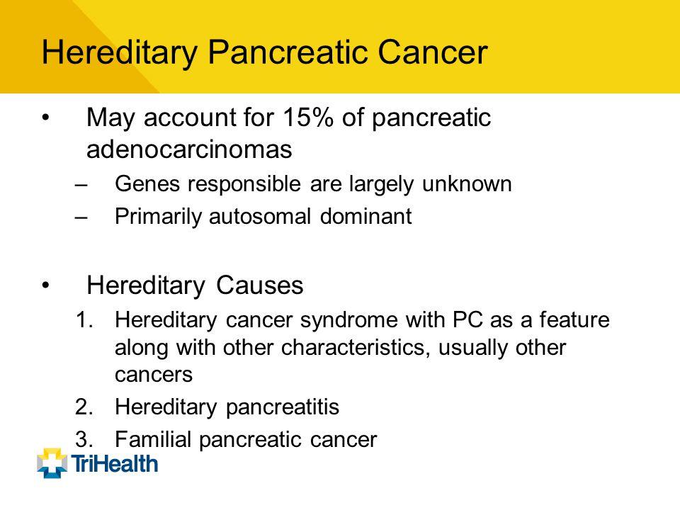 Hereditary Pancreatic Cancer
