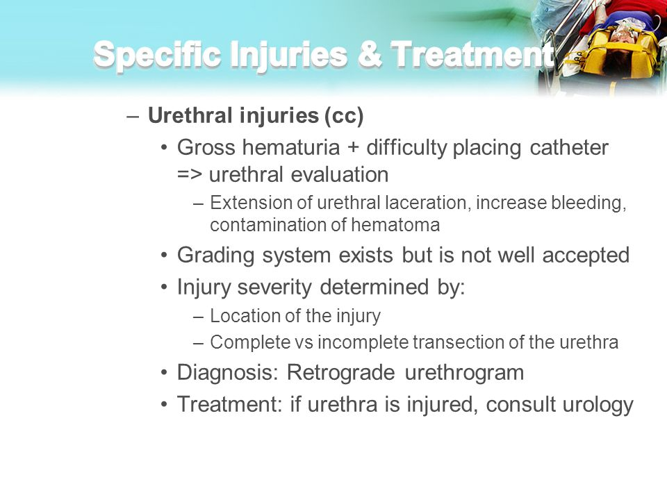 Specific Injuries & Treatment