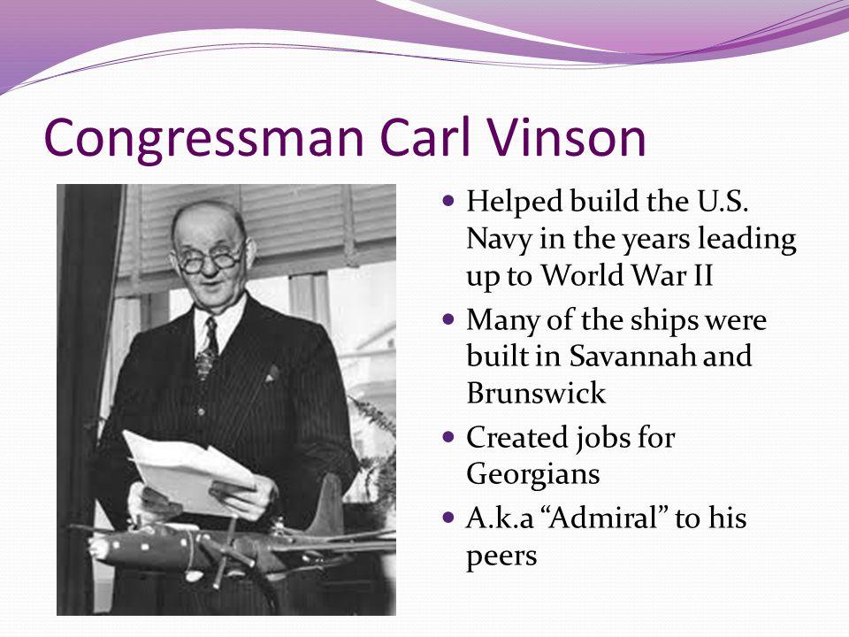 Congressman Carl Vinson