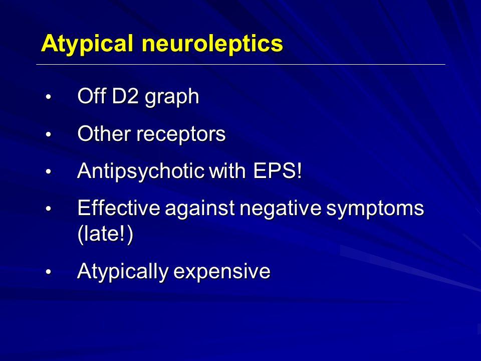 Atypical neuroleptics
