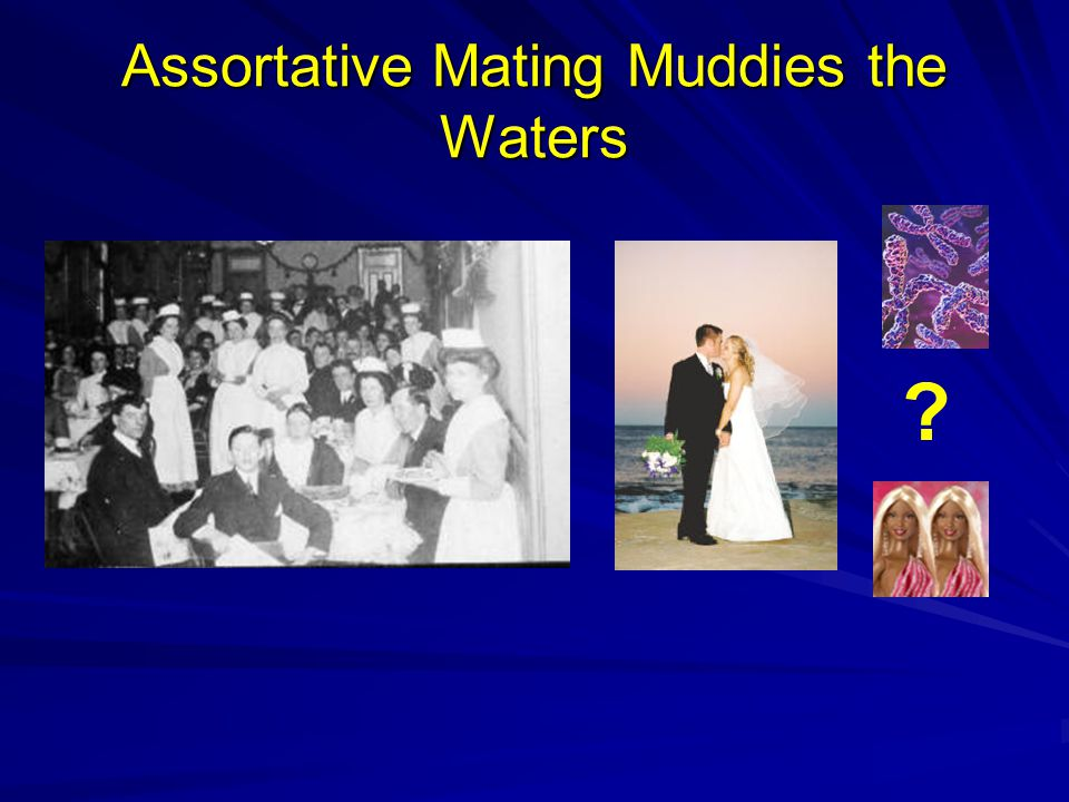 Assortative Mating Muddies the Waters