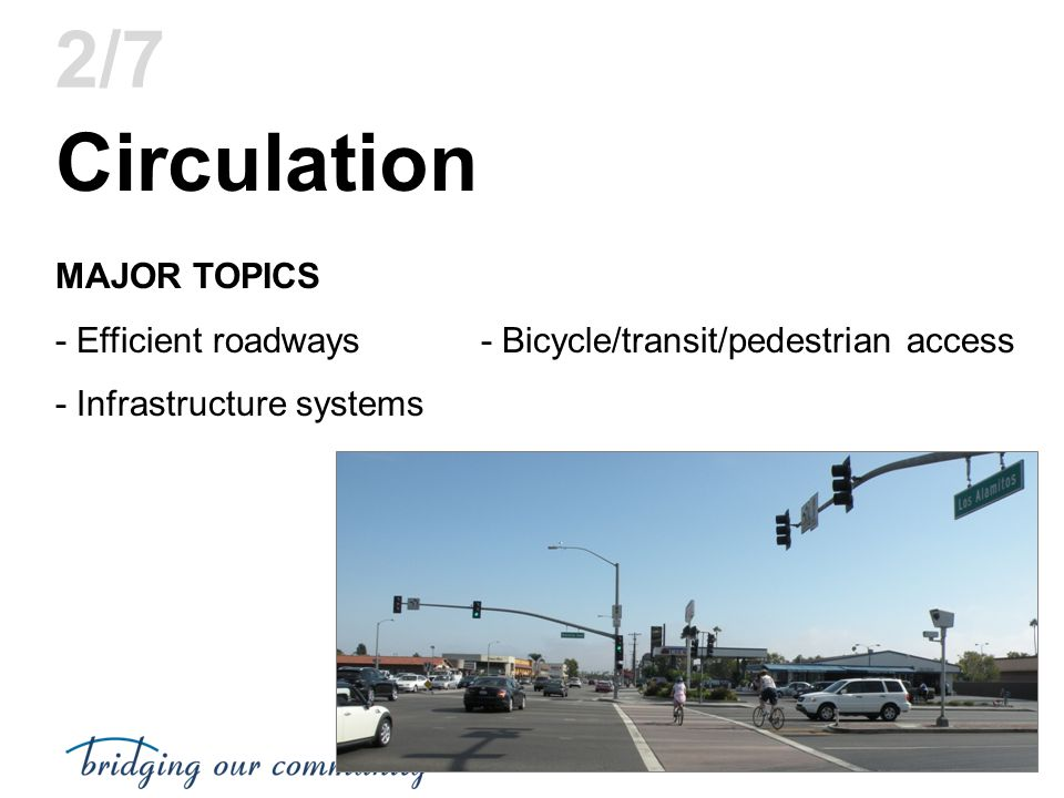 Circulation 2/7 MAJOR TOPICS