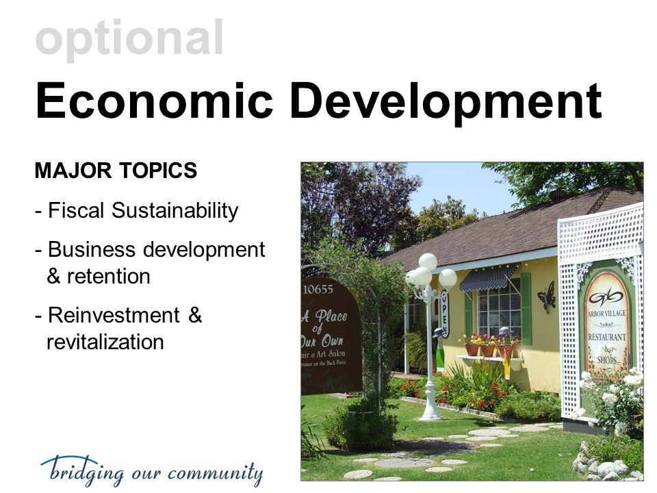 Economic Development optional MAJOR TOPICS - Fiscal Sustainability
